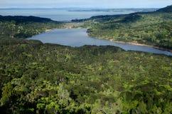 Резервуар Waitakere - Новая Зеландия стоковое изображение rf