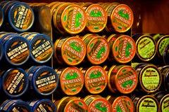 Резерв морепродуктов, рыб и супов Канн с французскими сочинительствами Стоковое Изображение