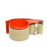 резец клейкая лента для герметизации трубопроводов отопления и вентиляции Стоковое фото RF