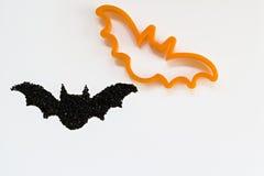 Резец печенья хеллоуина Стоковое Фото