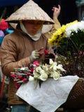 Резец & триммер въетнамской улицы розовый в Вьетнаме Стоковые Фото