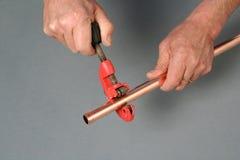 Резец трубы Стоковые Фотографии RF