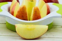 Резец Яблока Стоковые Изображения
