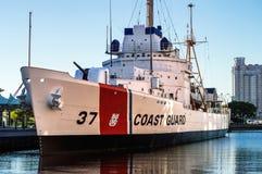 Резец Taney службы береговой охраны Стоковое Изображение RF