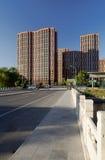 резиденции снабжения жилищем Пекин Стоковое Фото