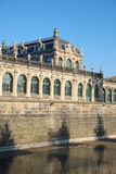Резиденция замока Дрезден Стоковые Изображения