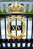резиденция королевский stockholm Стоковое Изображение RF