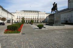 резиденция президента Польши Стоковые Изображения