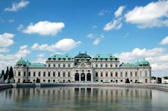 резиденция belvedere Стоковое Изображение RF