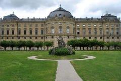 Резиденция rzburg ¼ WÃ, rzburg ¼ WÃ, Германия Стоковая Фотография RF