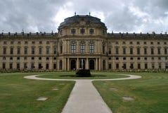 Резиденция rzburg ¼ WÃ, rzburg ¼ WÃ, Германия Стоковые Изображения
