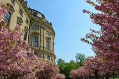 Резиденция rzburg ¼ WÃ - Германия стоковое фото rf