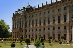 резиденция wuerzburg Стоковое Фото