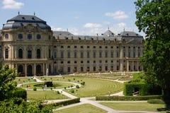 резиденция wuerzburg Стоковые Изображения