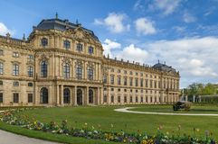 Резиденция Wurzburg, Германия стоковая фотография rf