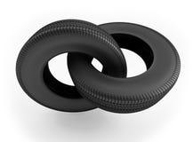 резина звена цепи Стоковое Изображение RF