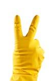 резина перчатки Стоковые Фотографии RF