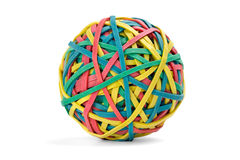 резина полосы шарика Стоковая Фотография RF
