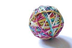 резина полосы шарика Стоковая Фотография
