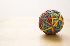 резина полосы шарика стоковое изображение rf