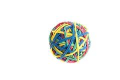резина полосы шарика Стоковые Изображения RF