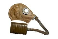 Резиновая маска противогаза изолированная на белой предпосылке Фото принятое дальше: 11 29 2015 Стоковые Фотографии RF