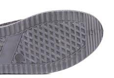 Резиновая подошва ботинка Стоковое Изображение