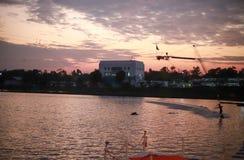 Резиновое кольцо поплавка в спортивном центре водных видов спорта Стоковые Изображения RF