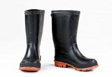 Резиновые ботинки дождя Стоковая Фотография
