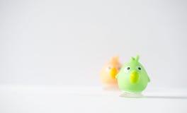 Резиновые игрушки птицы Стоковое фото RF