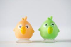 Резиновые игрушки птицы Стоковые Фотографии RF