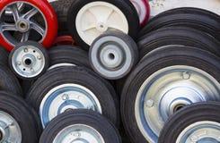 Резиновые колеса Стоковые Фото