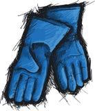 Резиновые перчатки Стоковое Изображение RF