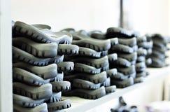 Резиновые подошвы для производства обуви стоковые фото