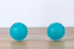 Резиновые шарики для массажа ноги Стоковые Изображения RF