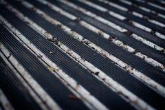 Резиновый половик металла Стоковые Фотографии RF