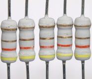 резисторы силы Стоковое фото RF