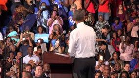Резидент встречи США Barack Obama с студентами университета мемориала Флориды