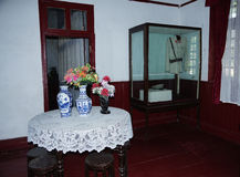 Резиденция Китая Guilin Li Tsung-jen - когда республика «президентский дворец ' 6 комплектов фото--Ресторан Стоковые Изображения