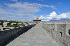 резиденция монгольских принцев в Alxa Стоковое Фото