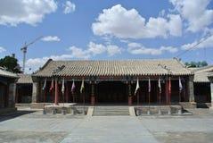 резиденция монгольских принцев в Alxa Стоковое фото RF