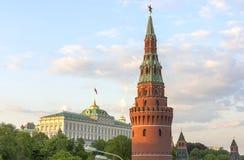 Резиденция президента RF Стоковые Изображения