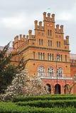 Резиденция Bukovinian и далматинские столичные жителя, теперь часть университета Chernivtsi Стоковое Фото