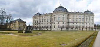 Резиденция Wurzburg стоковое изображение