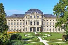 Резиденция Wurzburg, Германия Стоковое Изображение