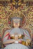 Резное изображение Будды стоковое фото