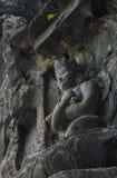 Резное изображение камня Feilai Feng, Lingyin Temple Стоковые Фотографии RF