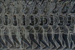 Резное изображение стены Стоковые Фотографии RF