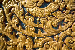 Резное изображение Таиланда Стоковое фото RF