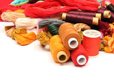 резьба вышивки 6 Стоковая Фотография